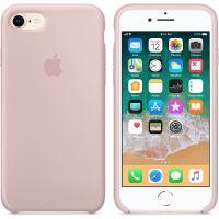 Apple silikonový kryt iPhone 8 / 7 bílý