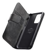 Prémiové kožené pouzdro typu kniha Cellularline Supreme pro Samsung Galaxy S20 Ultra, černé