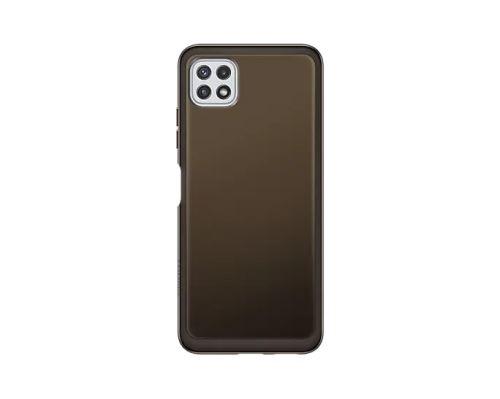Samsung Poloprůhledný zadní kryt A22 5G Black