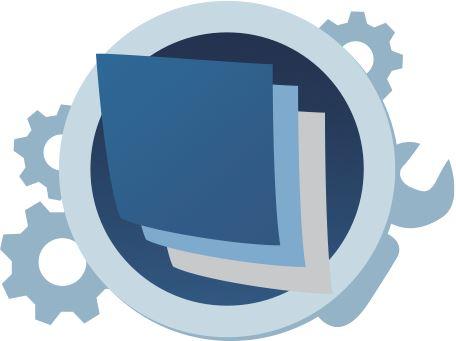 Univerzální pouzdro RedPoint Velvet, mikroplyš, motiv Blue Angle, velikost L