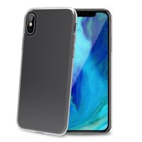 TPU pouzdro CELLY Gelskin pro Apple iPhone XS Max, bezbarvé