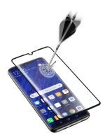 Ochranné tvrzené sklo pro celý displej Cellularline CAPSULE pro Huawei P30 Pro, černé
