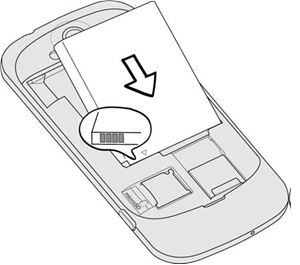 EB494358VU Samsung baterie originál pro S5830, S5660 Gio, S5670