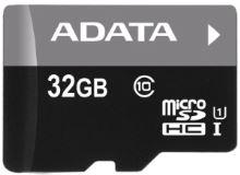 ADATA 32GB MicroSDHC Card with Adaptor Class 4