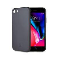 Zadní magnetický TPU kryt CELLY GHOSTSKIN pro Apple iPhone 7 Plus/8 Plus, kompatibilní s GHOST držáky, černý