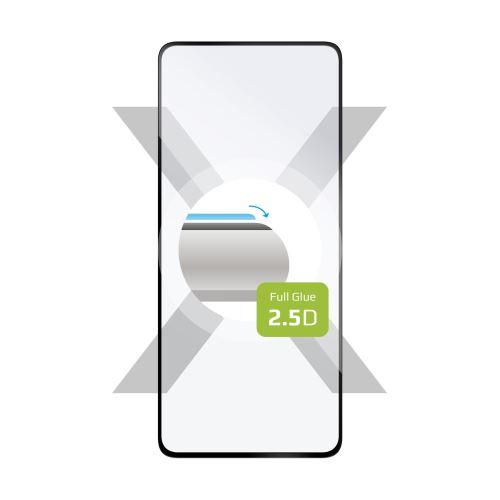 Ochranné tvrzené sklo FIXED Full-Cover pro Xiaomi Redmi Note 10 Pro, lepení přes celý displej, černé