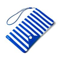 """Univerzální voděodolné pouzdro s peněženkou CELLY Splash Wallet pro telefony 5,7 """", modré"""